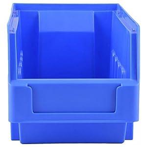 Aadvay Enterprises Blue Supra Bin SB 3 (10 PCS of one Pkt)/Automotive, Electronic, Engineering Small Utilities Tools Or Screws Storage Box_ SB-3 Blue