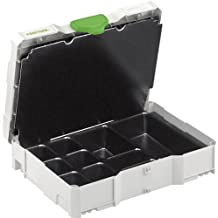 Festool 497692 Sys 1 Uni Small Part and Fastener Organizer, Systainer 1