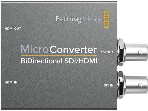 Blackmagic Design Micro Converter BiDirectional SDI/HDMI/PSU (Hdmi To Sdi Adapter)