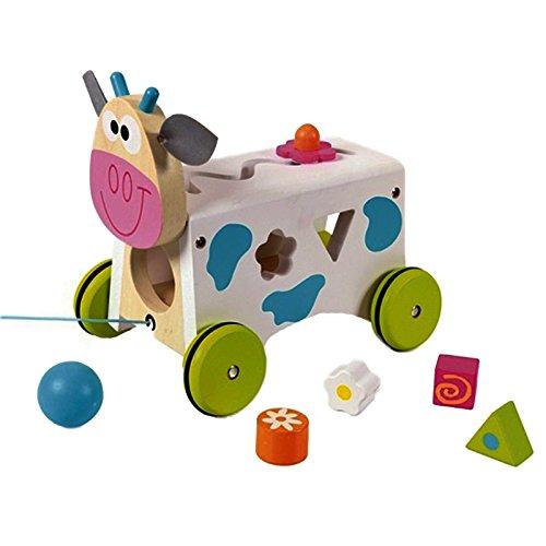 Scratch 276181007 - Cube de tri de formes - Vache Marie