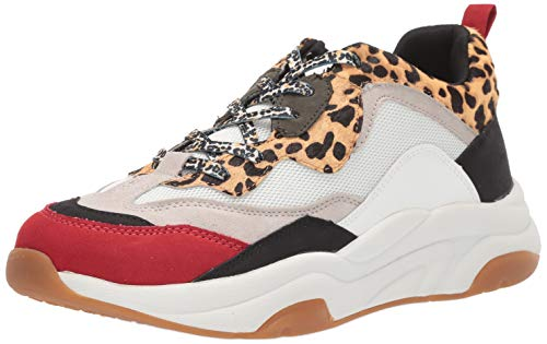 Steve Madden Men's Antonio Sneaker, Leopard, 13 M US (Leopard Sneakers Men)