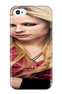 Fashion Protective Celebrity Avril Lavigne People Celebrity Case Cover For Iphone 4/4s