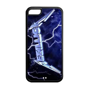 Danny Store Hard Rubber Protection Cover Case for iPhone 5C - Metallica