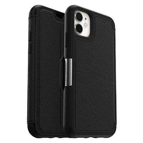 OtterBox STRADA SERIES Case for iPhone 11 - SHADOW (BLACK/PEWTER) (Otter Box Wallet Phone)