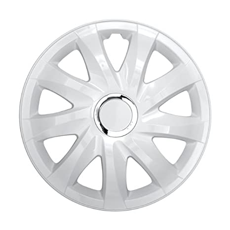 Tapacubos - Tapacubos Tapacubos DRIFT Blanco 13 pulgadas Nissan Primera, Sunny, KUBISTAR Star, NV200: Amazon.es: Coche y moto