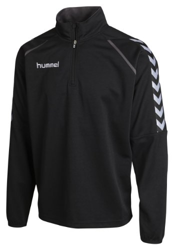 Hummel Sweatshirt Stay Authentic Poly, Black, S, 36-992-2001