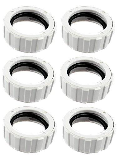 6) Polaris 9-100-3109 Original Cuffless Hose Nut for 360 Pool Cleaner (Polaris Cleaner)