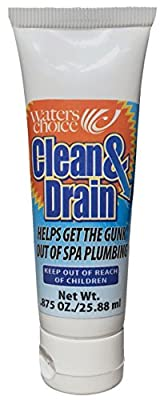 Waters Choice Clean & Drain Spa Cleaning Purge Product