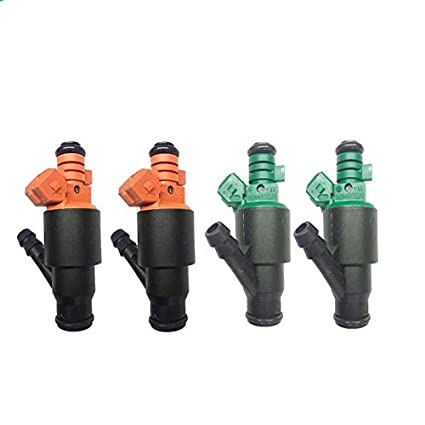 Amazon.com: Set 4 New Fuel Injector Nozzle 0280150504 0280150502 for 95-02 compatible KIA Sportage 2.0L: Automotive