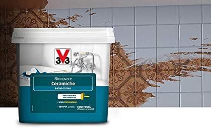 V33 Smalto Rinnovare Ceramiche Bagno Cucina Assenzio Satinato 0 75