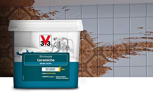 V33 Smalto Rinnovare Ceramiche Bagno Cucina Assenzio