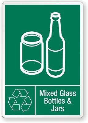 Amazon.com: Mezcla de botellas de vidrio y tarros ...
