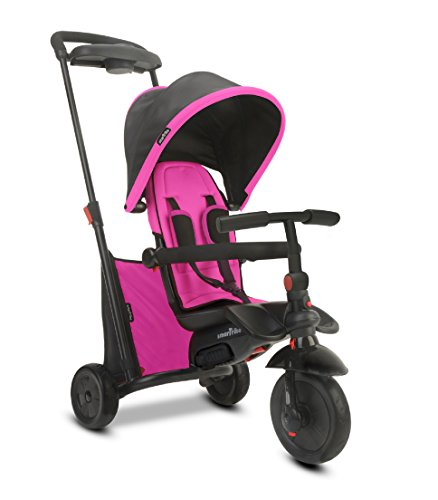 smarTrike Smartfold 500 Baby Tricycle, Pink
