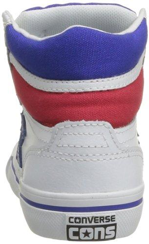 CONVERSE Pro Blaz Lea Hi 309970-61-33 Herren Sneaker Weiß (BLANC/BLEU/ROUGE)