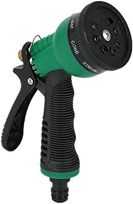 Melodycp Pistola de Agua pulverizador de Agua para jardín, Alta presión, Apta para regar el jardín, Lavar el Cristal, Comodidad Ligera: Amazon.es: Hogar