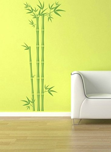 Amazon.com: Bamboo Wall Decal, Tree Wall Decal, Bamboo Wall Art ...