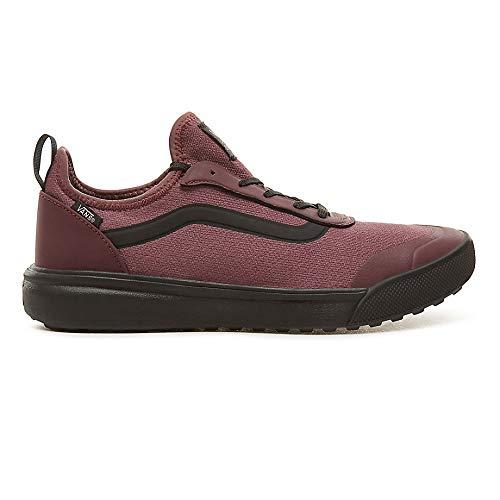 Vans Catawba Grape Burgundy/Black Ultrarange AC Sneakers-UK 8