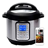 Instant Pot Smart WiFi Instant Pot Smart WiFi Electric Pressure Cooker, 6 Quart, Silver