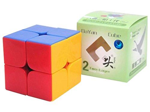 Dayan Zhanchi 2x2 Stickerless Speed Cube Puzzle, 50 mm