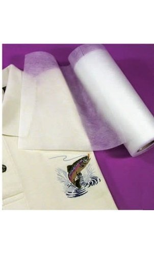No Show Machine Embroidery Stabilizer Backing Cut Away 20″ x 50 Yards Roll
