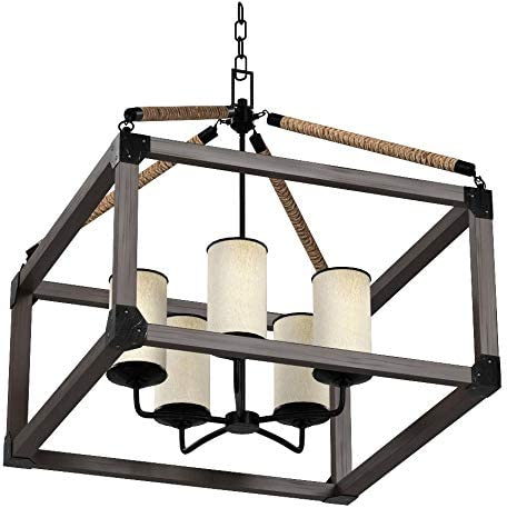 Sea Gull Lighting 3113305-846 Dunning Five-Light Chandelier Hanging Modern Fixture