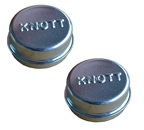 FKAnhängerteile 2 x Knott Radkappe - Fettkappe - Staubkappe Ø 47, 1 mm - Knott Nr. 6BA455 FKAnhängerteile