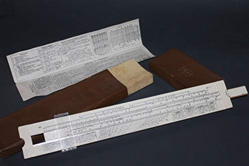- 1970s Vintage Slide Rule hydrotechnics Manual Soviet Russian USSR Slipstick
