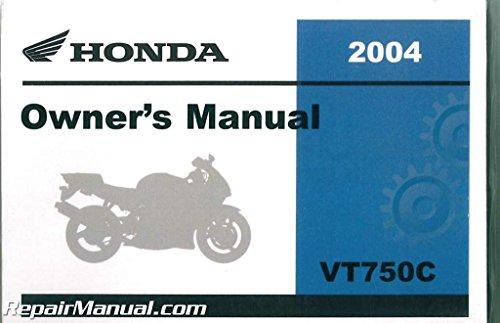 31MEG600 2004 Honda VT750C Shadow Aero Motorcycle Owners - Vt750c Shadow