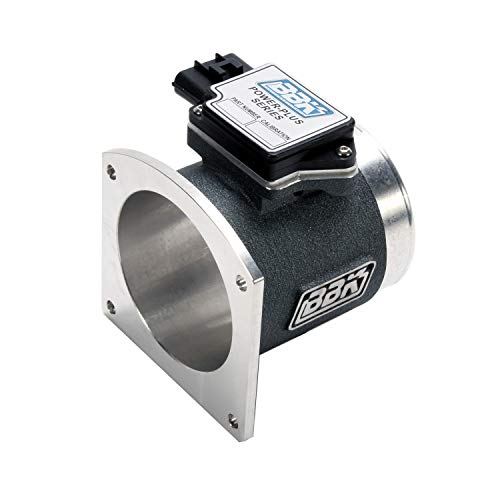 BBK 8012 86mm Mass Air Flow Meter MAF Sensor Calibrated For 19 lb Injectors, Cold Air Kit Calibration for Ford Mustang GT 4.6L 2V