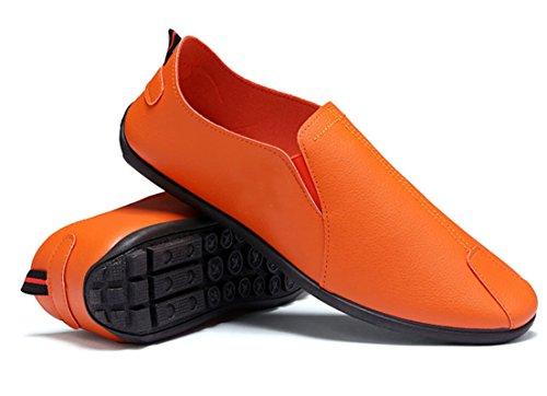 Arancione Seaoeey Stringate Uomo 40 Orange Scarpe Basse q7IIF6