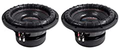 """Price is for American Bass ELITE-1244 2400w 12"""" Competition Car Subwoofer 3"""" Voice Coil/150Oz Description: Are you looking for the power of an XFL subwoofer but not the price? Then the American Bass Elite Series is just what you need. The Eli..."""