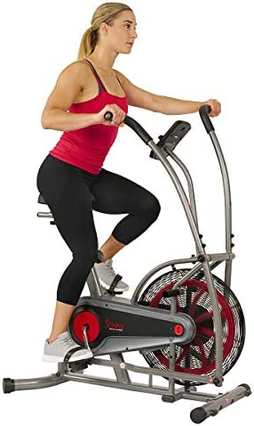 Sunny Health Fitness Motion Air Bike