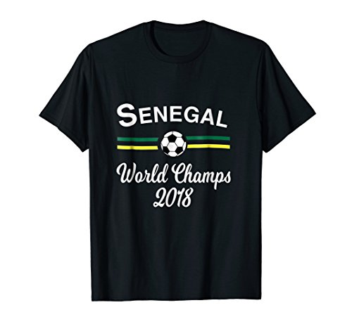 World Cup Champs - Soccer Senegal Shirt Champs, World Football 2018 Tshirt Gift