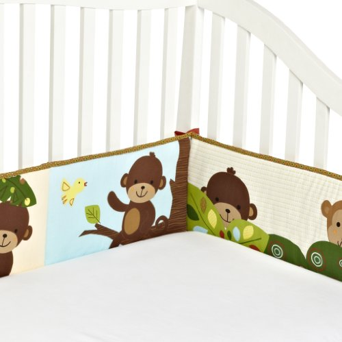 Bedtime Originals Bumper, Curly Tails
