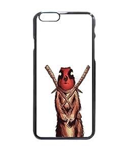 Deadpool squirrel Custom Image Case iphone 6 -4.7