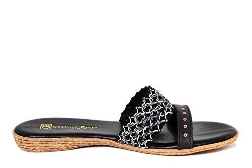 GAGLIANI RENZO - Sandalias de vestir de Material Sintético para mujer negro negro