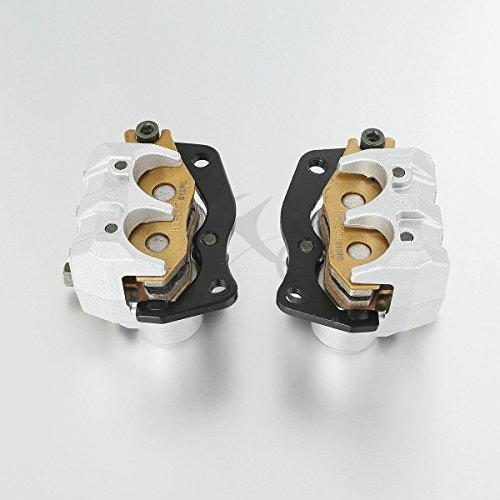 XFMT Left & Right Front Brake Caliper Set Compatible with YAMAHA RHINO 660 2004-2007/ YAMAHA RHINO 450 2006-2009 by XFMT (Image #6)