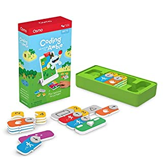 Osmo - Coding Awbie - Ages 5-12 - Coding & Problem Solving - For iPad or Fire Tablet (Osmo Base Required)