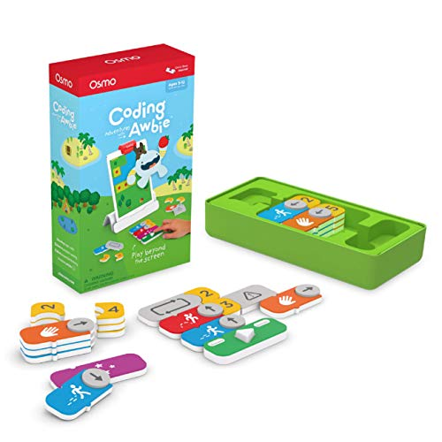 Osmo - Coding Awbie Game - Ages 5-12 - Coding & Problem Solving - For iPad or Fire Tablet (Osmo Base Required)