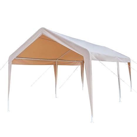 SUCCESS Toldo multiusos resistente para exteriores, refugio de vehículos, caravanas, cubierta impermeable y