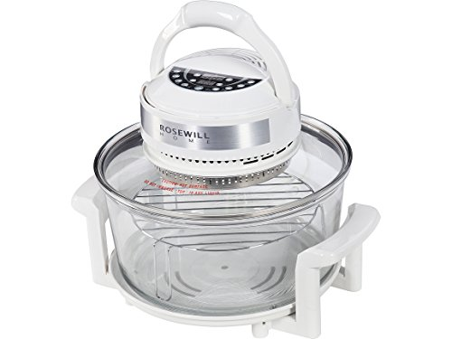 - Rosewill RHCO-16001 Infrared Halogen Convection Technology Digital Oven with extender ring