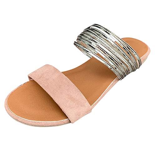 - ❤️ LIBERTY-GIRLS❤️ Women Rome Plus Size Slippers Flip Flops Flat Summer Basic Sandals Thongs Toe Ring Joan Khaki