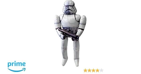 "Star Wars Stormtrooper Airwalker 70/"" in Birthday Jumbo Foil Balloon Favor Decor"