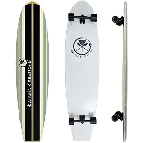 Kahuna Creations Longboard Skateboard (Kahuna Creations Bombora Ultra Longboard, Black, 59