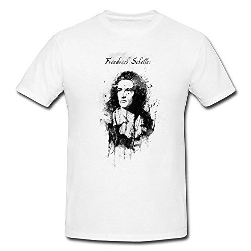 Friedrich-Schiller T-Shirt Herren, Men mit stylischen Motiv von Paul Sinus