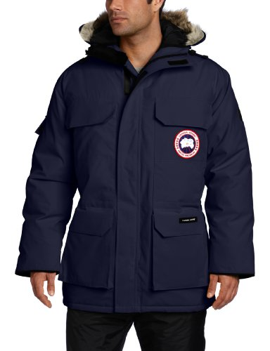 Canada Goose Men's Expedition Parka,  Navy,  Medium