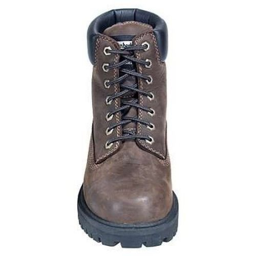 Timberland PRO Men's Direct Attach Six-Inch Soft-Toe Boot, Brown Oiled Full-Grain,10.5 M