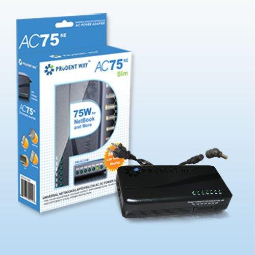 Prudent Way Pwi Ac75ne   75W Universal Notebook Netbook Adapter