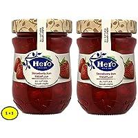 Hero Ngx Strawberry Jam 350Gm 1+1 Free