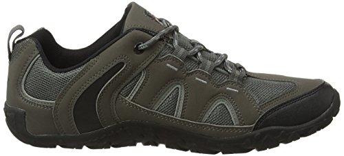 Gola Elias, Zapatillas de Deporte para Exterior para Hombre Gris (Grey/black)